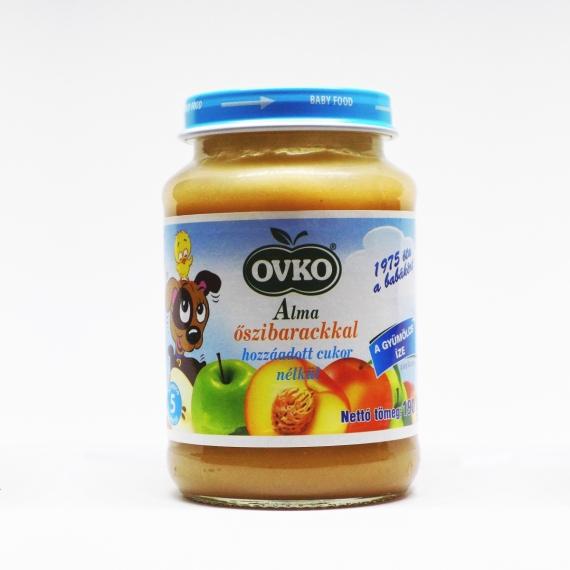 OVKO Alma őszibarackkal hozzáadott cukor nélkül