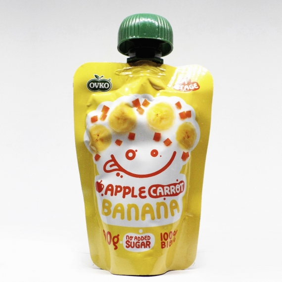 OVKO BIO Alma, sárgarépa, banán
