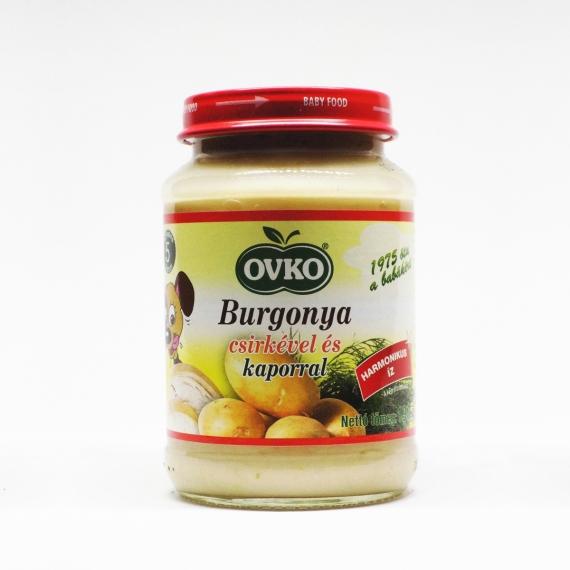 OVKO Burgonya csirkével és kaporral