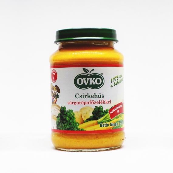 OVKO Csirkehús sárgarépafőzelékkel