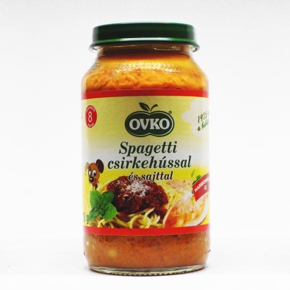 OVKO Spagetti csirkehússal és sajttal